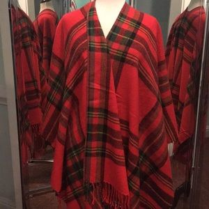 Plaid Blanket Scarf  FALL Perfect - 58""